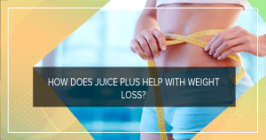 How does Juice Plus help with weight loss?
