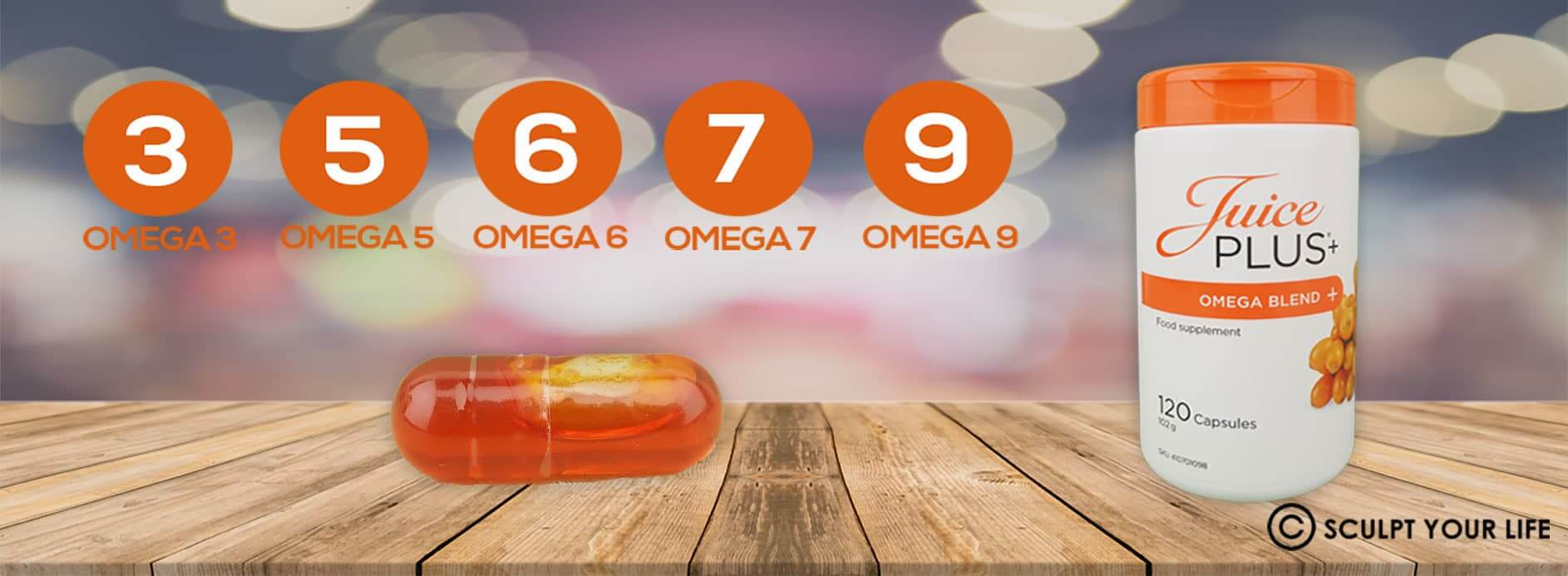 Number of Omegas in Juice Plus Omega Capsules